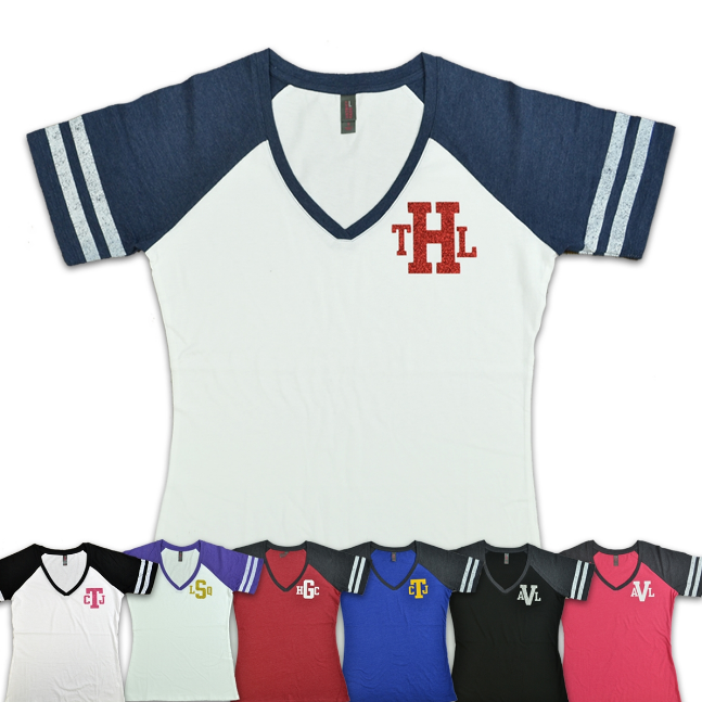 Custom Monogram T-Shirts for Sale at Wholesale Prices