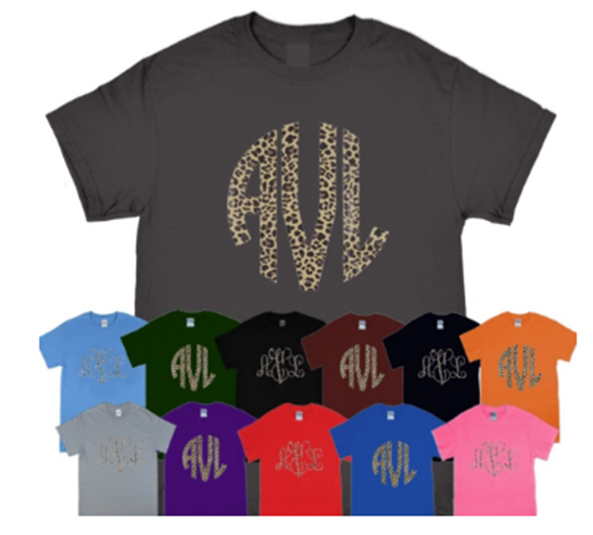 Best Monogrammed T-Shirts For Summer 2018