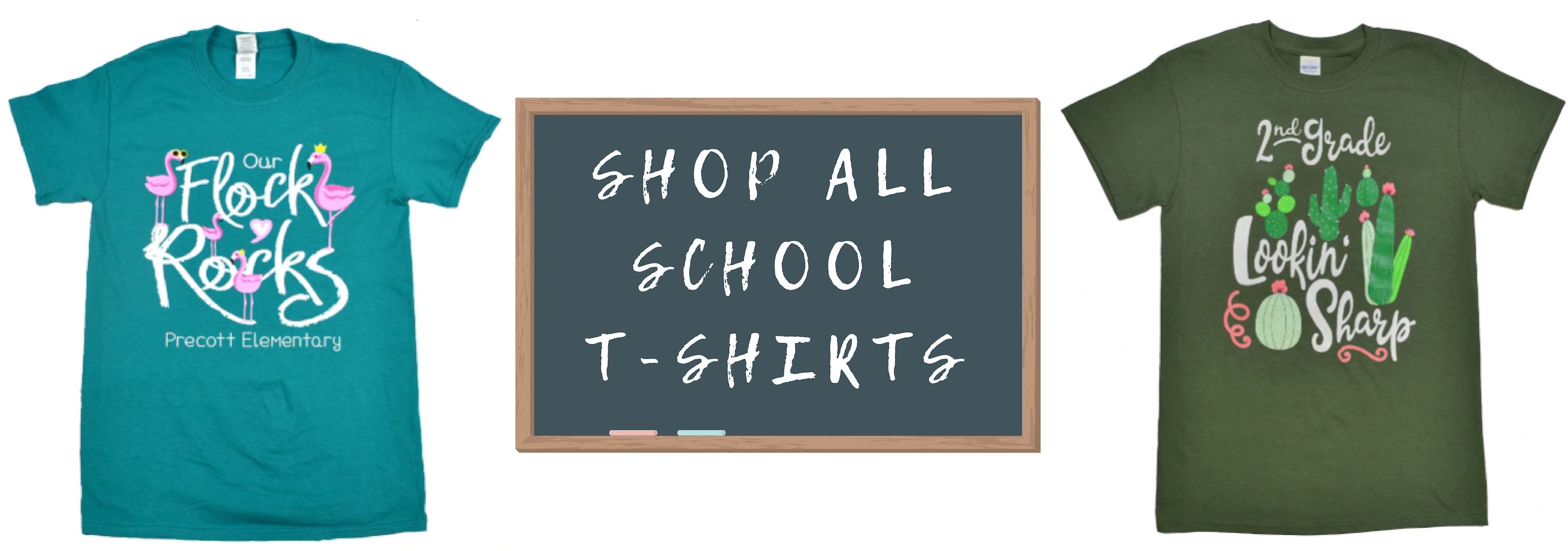 Wholesale Customizable T Shirts Get Your School Matching Before A
